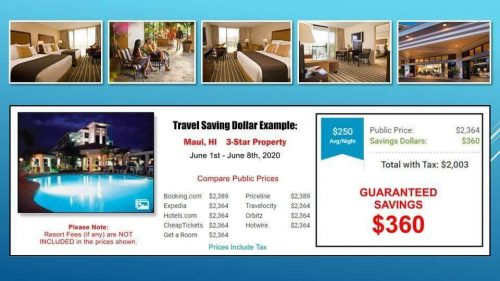 travel savings dollar